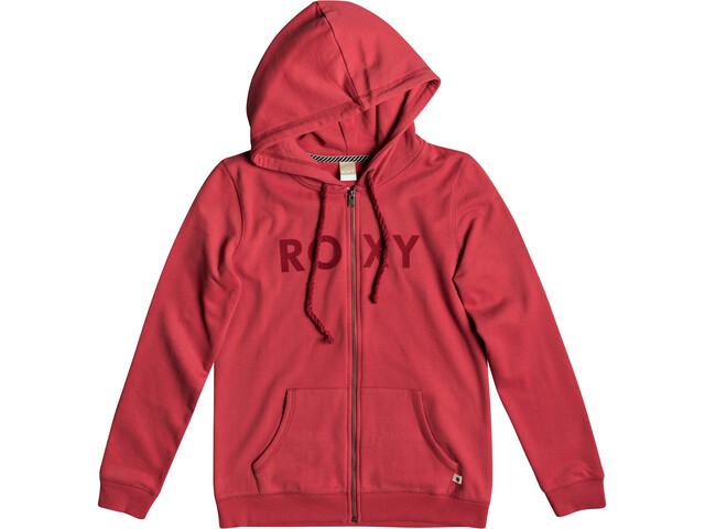 Roxy Cosmic Nights Veste à capuche zippée Femme, american beauty